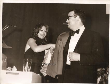 Maria Rosaria Omaggio e papà