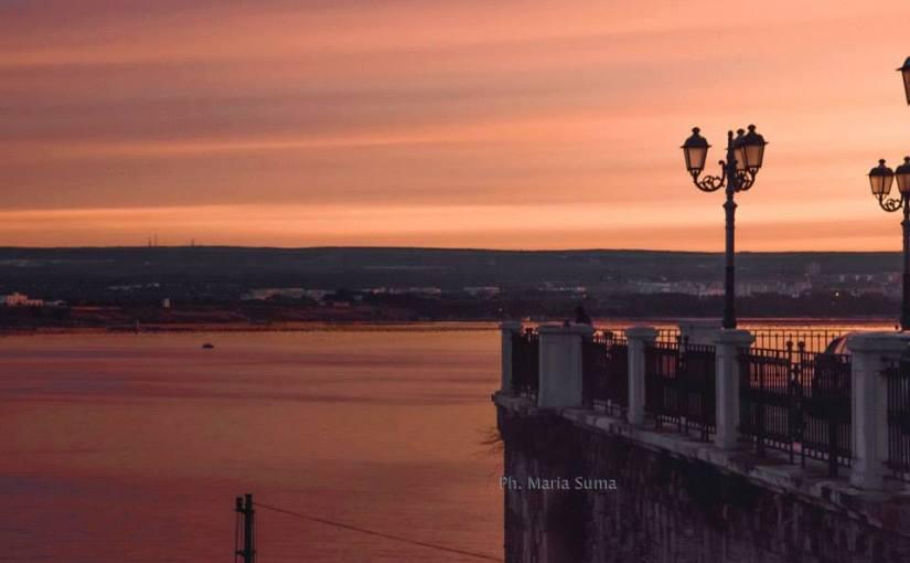 Un'alba spettacolare